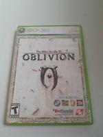 Elder Scrolls IV Oblivion XBOX 360 Complete CIB Slightly Used