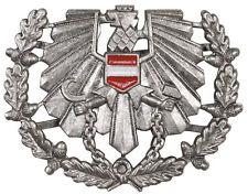 MFH Österreichisches Bundesheer Schirmmützen-Abzeichen Silber Neuwertig