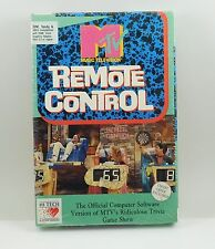 Sealed MTV REMOTE CONTROL IBM TANDY COMPUTER SOFTWARE GAME RARE!!