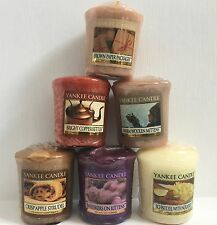 Yankee Candle lot of 6 Votive Candles My Favorite Things Collection