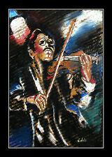 Geiger ARTPRINT edition Volker Welz Geige Violine Klassik Jazz Funk Soul Pop AK