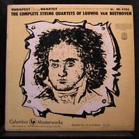 Beethoven, Budapest - String Quartet Quartet No. 14 In C#m LP VG SL 174 Mono 6i