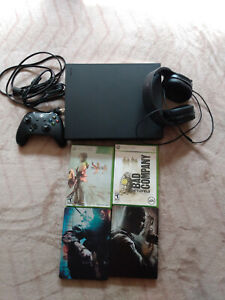 Xbox One X 1TB Black W/Headset, Games and Controller