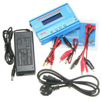 iMAX B6 AC Lipo/NiMH LCD RC Akku Batterie Balance Charger Netzteil Ladegerät