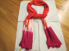 Michael Kors Tie Dye Knit Scarf Persimmon Authentic