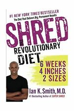 Shred: The Revolutionary Diet: 6 Weeks 4 Inches 2 Sizes Free Shipping