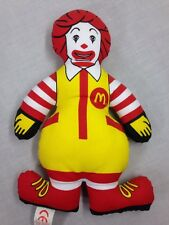 Vintage 1980's McDonald's RONALD McDONALD plush advertising doll.