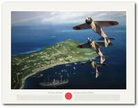 The Tainan Air Group - Air Show at Port Moresby by Jack Fellows - Aviation Art