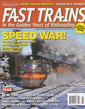 FAST TRAINS 2009 C&NW CB&Q MIULWAUKEE ROAD IC UP M-10001 NYC HUDSON SUPER C SP