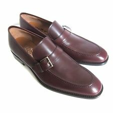 C-1376181 New Salvatore Ferragamo Lee 2 Leather Loafers Shoes Size US 7 D