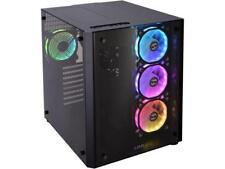 LIAN LI PC-O8RGB Black Aluminum / Tempered Glass ATX Mid Tower Computer Case