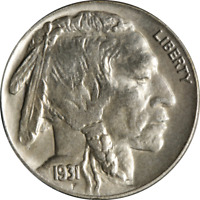1931-S Buffalo Nickel Great Deals From The Executive Coin Company