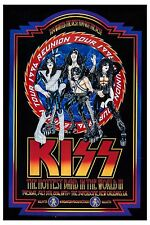 Hi Heel Rock: Kiss * ReUnion Tour * New Orleans Superdome Concert Poster 1996