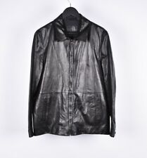 Prada Milano Men Light Leather Jacket Size EU50 UK40