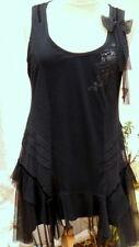 robe tunique noir la mode est a vous LMV taille 36  modele * preciosa * neuf s/e