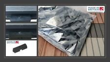 Pack of 100 - Composite Decking Clips Hidden Fastener