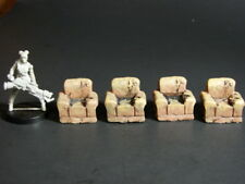 28mm  Pro painted Ruined Chairs-Post apocalypse,Zombie ,Sci Fi  Terrain