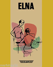 ELNA Supermatic Plana (TAN) USER'S MANUAL/ Operating Instruction on CD in PDF