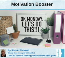 Get Motivated and Stop Procrastinating. Let's do this today!. Self-Hypnosis CD