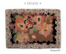 Scaldotto Caleffi plaid coperta divano Fanny Chocolat 130x170