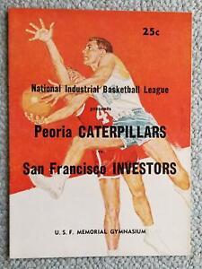 1959.National Industrial Basketball League.San Francisco Investors.BOB BOOZER