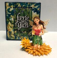 Faerie Glen Munro Fairy Chrysanthia FG841 November Flower Retired Mint in Box
