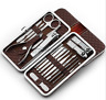 18in1 Men Women Grooming Kit Manicure Set Stainless Steel Pedicure Nail Clippers