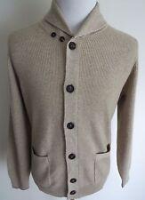 $2360 BRUNELLO CUCINELLI 2Ply English Rib Cashmere Cardigan Sweater Size 54 Euro