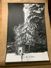 There Will Be Blood 24x36 Print Poster by Nicolas Delort GREY MATTER ART /300