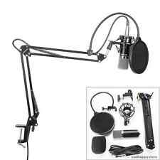Professional Condenser Microphone Kit Arm Stand Audio Recording Broadcast Neewer