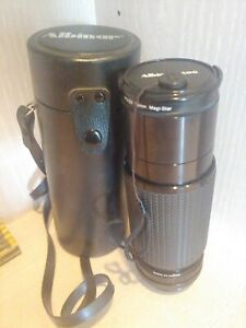 Albinar ADG 75-300mm 1:5.6 Zoom Lens for Canon with Case No. K8613703