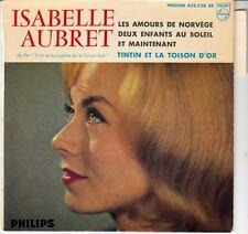 45 T EP ISABELLE AUBRET *TINTIN ET LA TOISON D'OR*