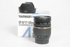 TAMRON SP AF17-50mm F2.8 XR LD ASPHERICAL (IF) (A16NII)  For Nikon