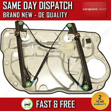 VW POLO 9N 2001>09 FRONT RIGHT SIDE ELECTRIC WINDOW REGULATOR & PANEL 6Q4837462