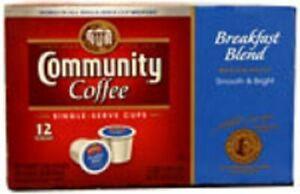 Community Coffee Breakfast Blend Coffee Keurig K Cup
