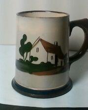 Vintage Tankard,Cottage Crute style, motto