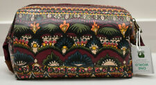 Sakroots Cosmetic Bag Case Zip Pouch New!