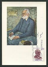 SPAIN MK 1970 SCHRIFTSTELLER WRITER MAXIMUMKARTE CARTE MAXIMUM CARD MC CM c9090