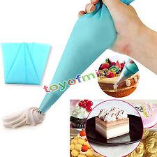 3 tailles réutilisable glaçage piping silicone sac gâteau décoration diy outil
