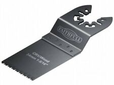 Faithfull Multi-Functional Tool Flush Wood Blade Side Set 34mm Pack of 5