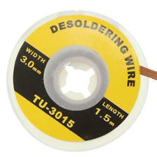 3mm Desoldering Desoldador Copper Braid Solder Iron Remover Wick Wire