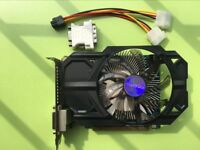 Original Gigabyte nVIDIA GeForce GTX750 1GB DDR5 GTX 750 Video Graphics Card