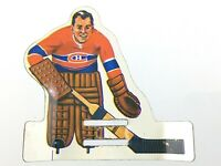 Vintage Hockey Table Player Metal Montreal Canadiens Goalie NHL Eagle Toys T078