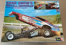 48 yr. old 1/16th Gene Snow Revell Snowman '72 Dodge Charger Funny Car Model Kit