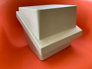 "Vintage IBM 8"" Floppy Diskette/Disk Case/Storage Box (2)"