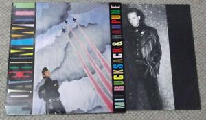 Joachim WITT - Mit Rucksack und Harpune / 1985er NDW LP mit Autogramm / Widmung