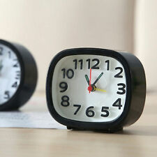 Bed Compact Travel Quartz Beep Alarm Clock Room Desk Table Snooze Analog Clocks