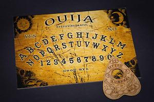 Planche de Ouija avec sa Goutte avec Instructions détaillées Classique Bois Neuf