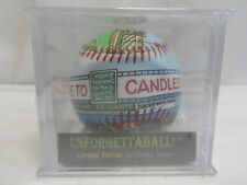 LIMITED EDITION UNFORGETTABALL CANDLESTICK PARK BASEBALL SAN FRANCISCO GIANTS