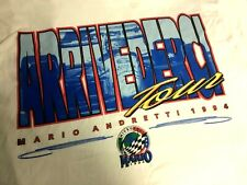 Indianapolis Indy 500 Vintage 1994 MARIO ANDRETTI Arrivederci Tour T-SHIRT NWT